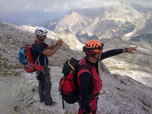 Daniele e Dario a Cortina